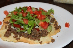"""Tacos with """"Paleo Tortillas"""" 