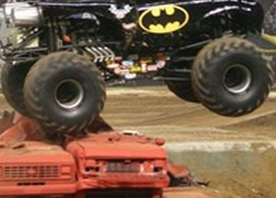 Batmobile Monster Truck: Your Childhood Dreams Have Come True - Cheezburger