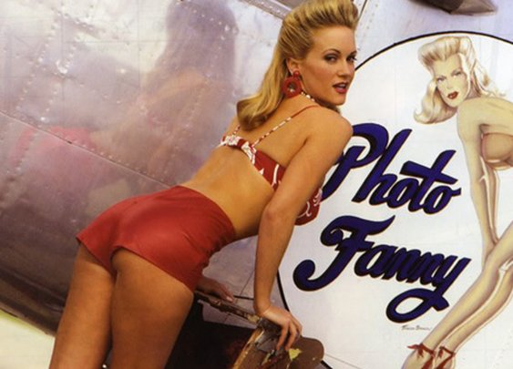 Bomber Nose Art and Broads | Manly Adventure