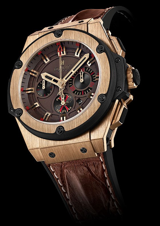 Hublot Teams with Cigar Maker to create an amazing timepiece