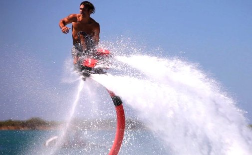 Flyboard - Coolest Water Jet Pack EVER!!! - YouTube