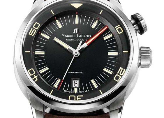 Maurice Lacroix Pontos S Vintage Diver Watch