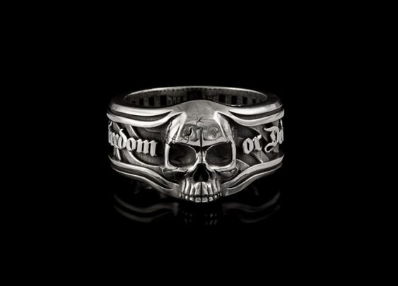 Freedom or Death Band - Rings  |  NightRider Jewelry