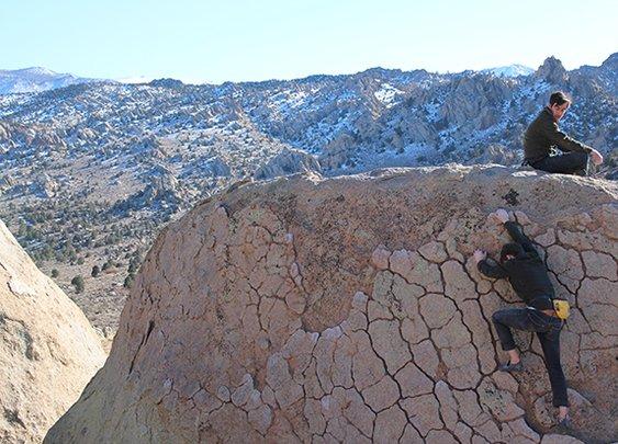 Huckberry | The Huckberry Rock Wall