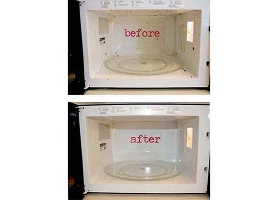 Clean Microwave!