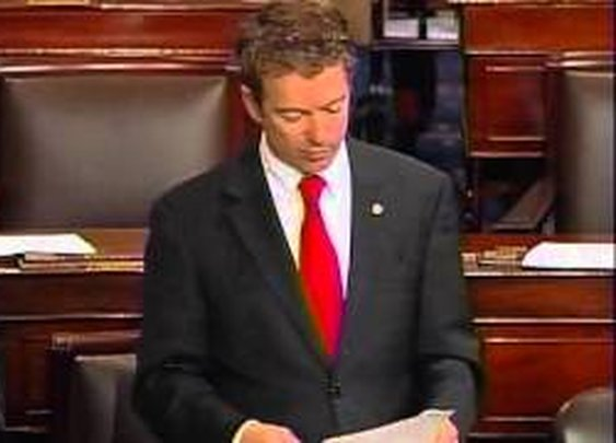 030613 - Sen. Rand Paul Senate Filibuster - HOUR 1 - YouTube