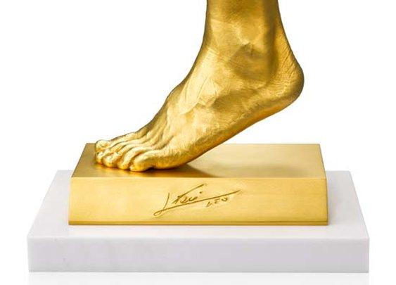 Lionel Messi's Golden Foot On Sale for $5.25 Million in Japan