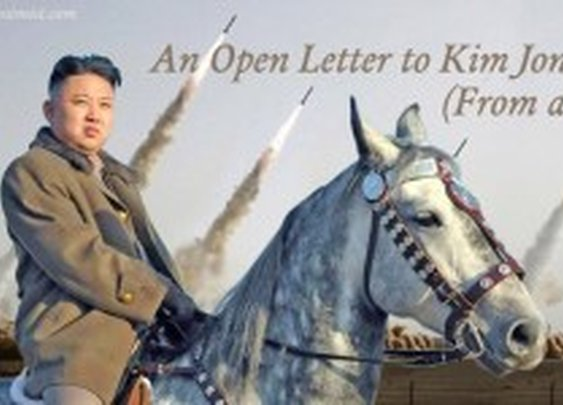 "The Pessimist: ""An Open Letter to Kim Jong Un (From a Bro)"""
