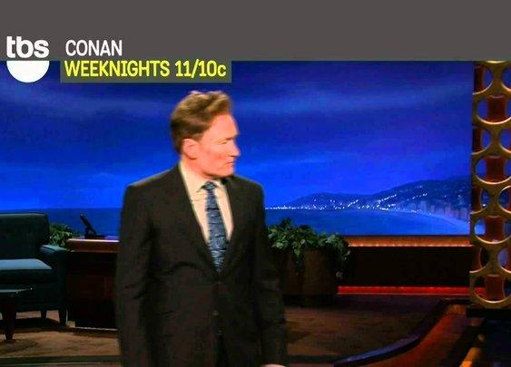 Best/My Favorite Conan O'Brien TBS Promo - YouTube
