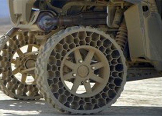 Off-Road Flat-Proof 'Airless' Tires | Video |