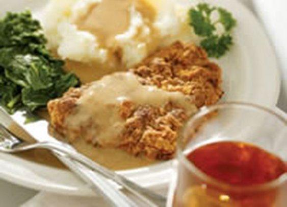 Chicken-Fried Steak and Gravy - Beef Recipes - Cube Steak Recipes - Delish.com
