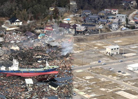 Japan Earthquake, 2 Years Later: Before and After - In Focus - The Atlantic