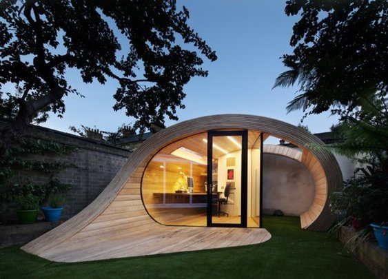 Shoffice - A Shed & Office In One