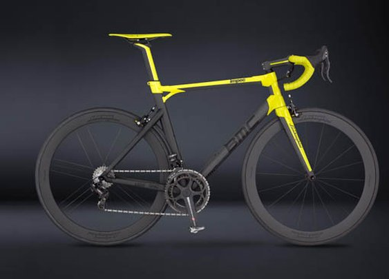 50th Anniversary Lamborghini Edition Road Bike by BMC