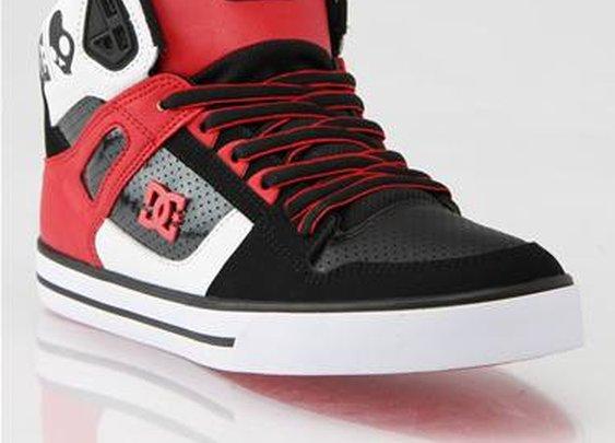 DC x SkullCandy Spartan Hi Skate Shoes