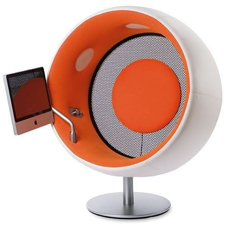 Sonic Chair Version 3: Chair with Touch iMac 20″