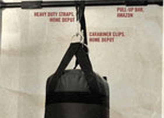 A Value Knock-Out: The Apartment Friendly Punching Bag Solution - Primer
