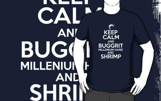 """Discworld - Keep Calm and Buggrit v.2"" T-Shirts & Hoodies by PaulRoberts | Redbubble"