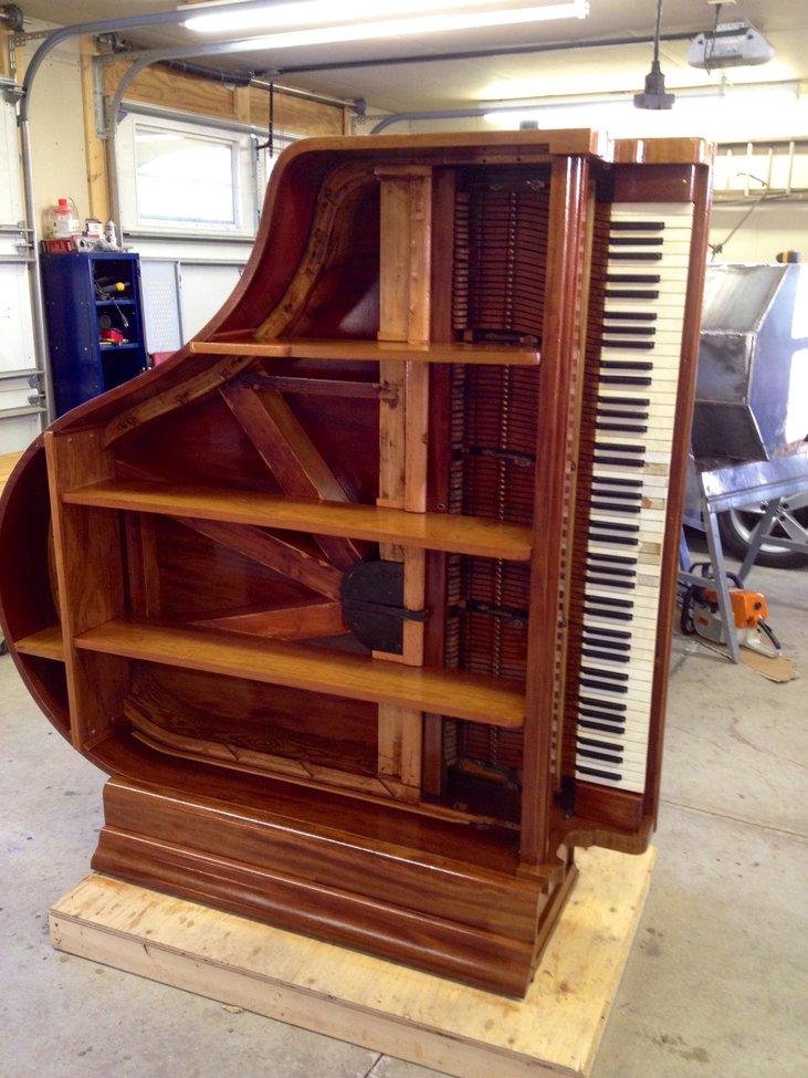 Old Piano Shelf