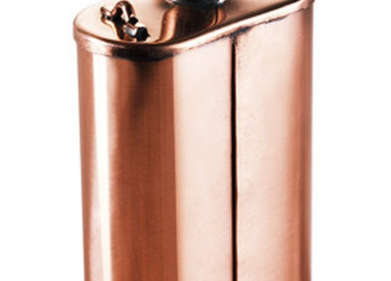 Handmade Copper Flask - Kaufmann Mercantile Store