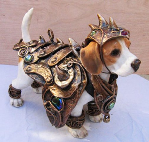 Dog Armor Costume