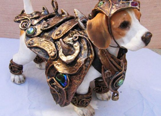 Dog Armor Costume