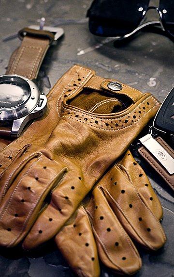 Gloves + Panerai