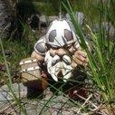 """Amazon.com: Garden Battle Gnome with Hammer 4"""": Patio, Lawn & Garden"""