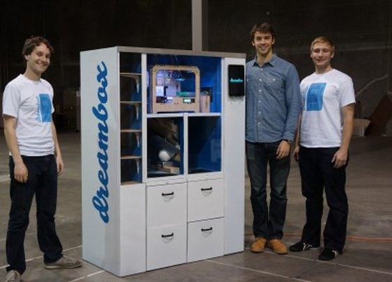 First Dreambox 3D printer vending machine heads to UC Berkeley