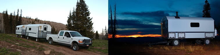 Timberline Range Camps - Range Camps, Sheep Camps, and Survival Camps.