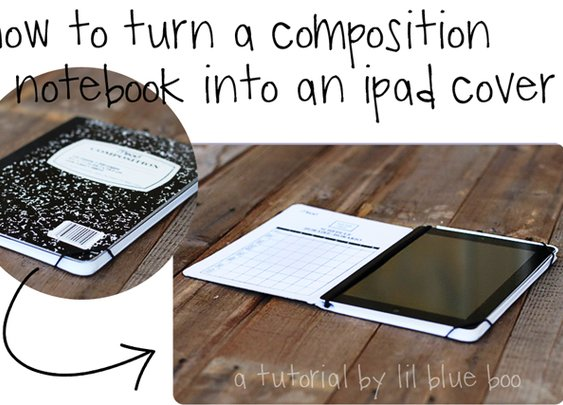 ipad cover tutorial | Lil Blue Boo