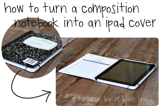 ipad cover tutorial | Lil Blue Boo