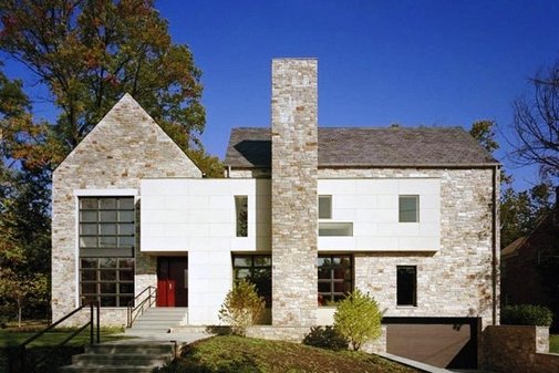 Traditional House Architectural Style with Modern Interior Touch