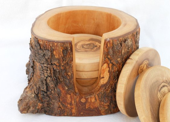 Rustic Wooden Coasters