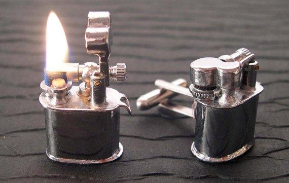 Vintage Lighter Cufflinks