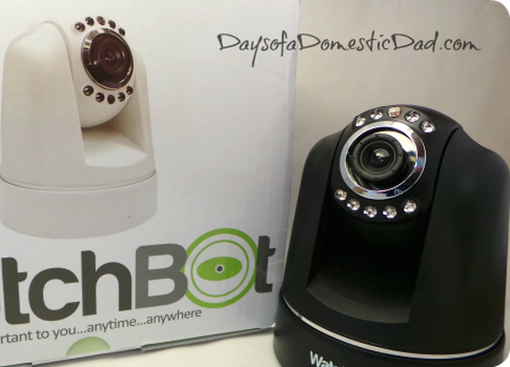 Wireless Security Cameras from WatchBot | Days of a Domestic Dad