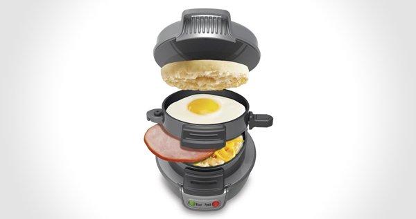 5 Minute Breakfast Sandwich Maker
