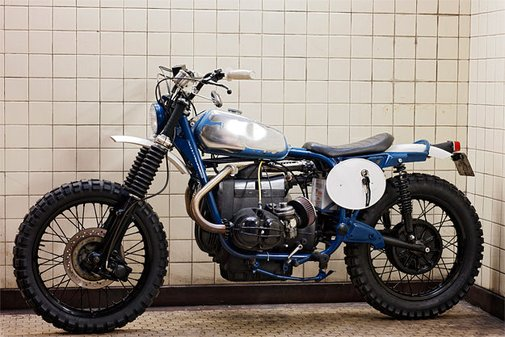 BMW R75/6 custom motorcycle