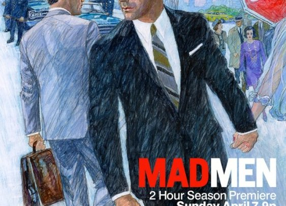 MAD MEN season 6 teaser poster