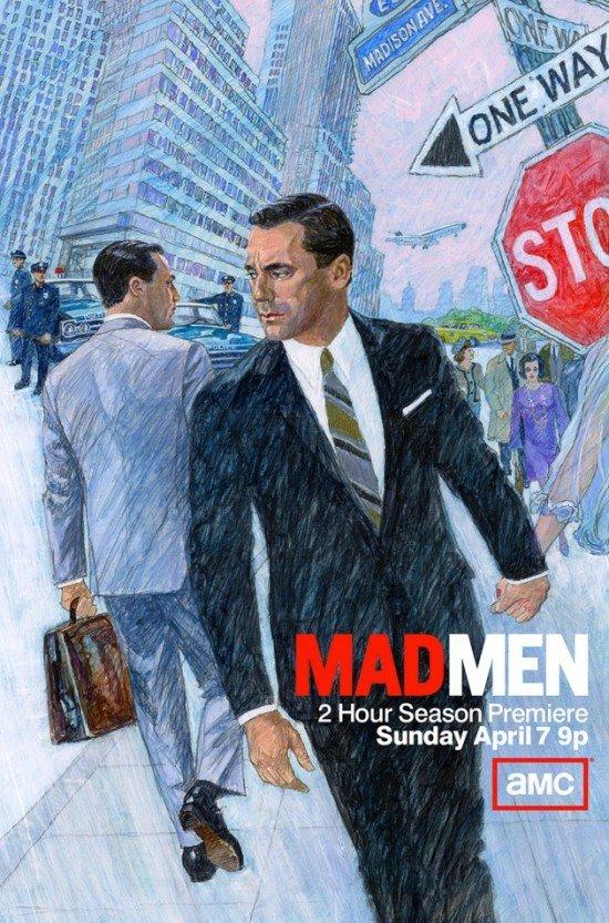 MAD MEN season 6 teaser poster