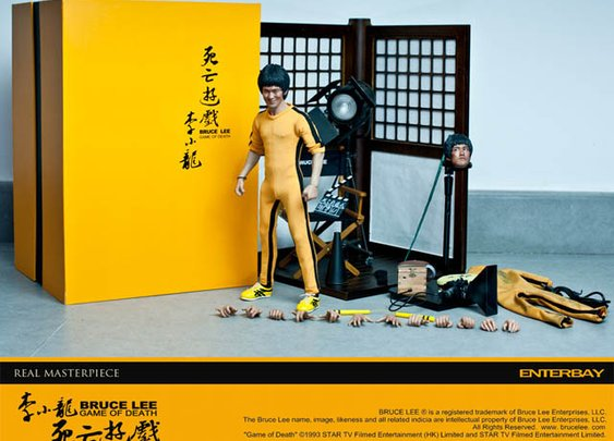 Game Of Death Bruce Lee Real Masterpiece by Enterbay