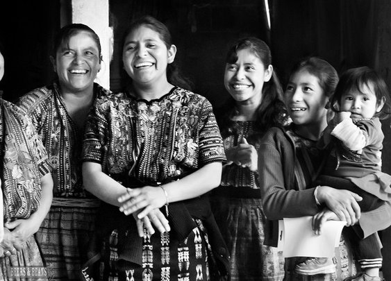 Eat, Weave, Smile: A Guatemalan Home Visit