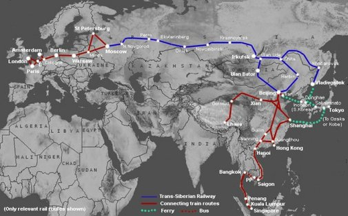 Ultimate Train Challenge: Planning for the Trans-Siberian Railway | The Professional Hobo
