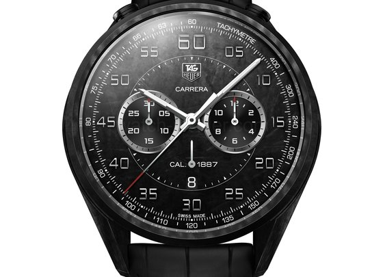 TAG Heuer presents the lightweight Carrera Carbon Calibre 1887 Concept Chronograph in Geneva