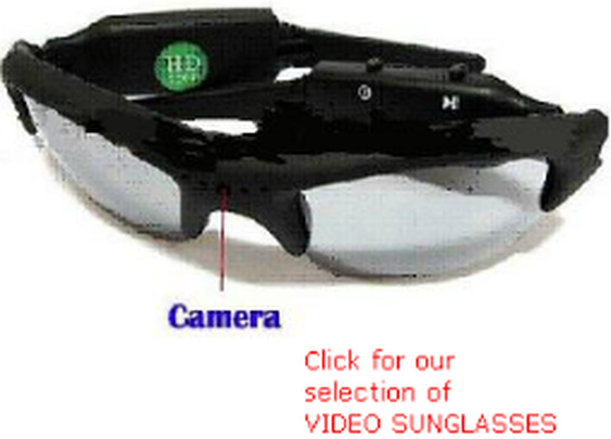 1080P,720P, VSUN,  Video Sunglasses, Video Goggles, Video camera