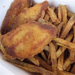 Paleo Pan Fried Fish and Chips