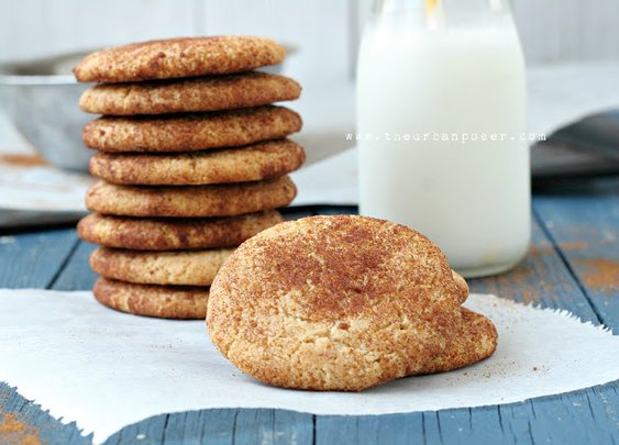 The Urban Poser:: Snickerdoodle Cookies (Egg/Grain/Gluten/Dairy Free)