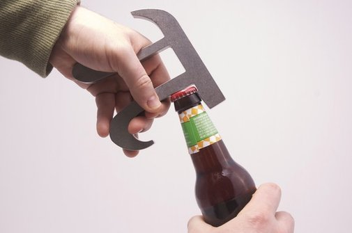 Pi Bottle Opener  by theUncommonGreen on Etsy
