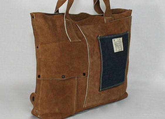 Suede Welder Bag IV by Industry Portage Company |