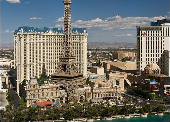 Replica of the Eiffel Tower (Paris Las Vegas, Nevada)
